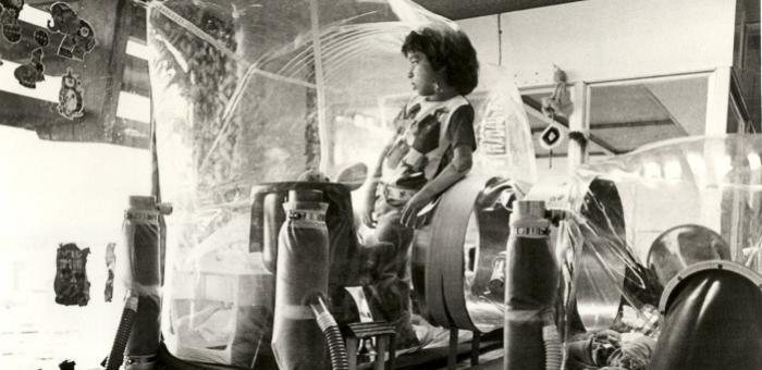 Дэвид Веттер (David Vetter, 1971-1984гг.) – самый известный «мальчик в пузыре»